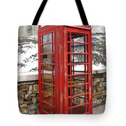 Old Phone Booth Tote Bag