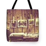Old Photo Archive Tote Bag