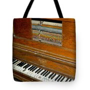 Old Piano Tote Bag