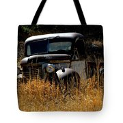 Old Pickup Truck Tote Bag