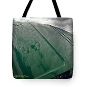 Old Pickup Truck Hood Tote Bag