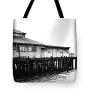 Old Pier Tote Bag