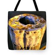 Old Piling Tote Bag