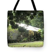 Old Plantation House Tote Bag