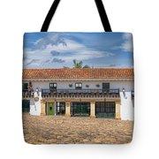 Old Plaza Tote Bag