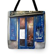 Old Plumbing-madrid  Tote Bag by Tomas Castano