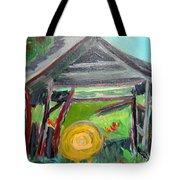 Old Plyler Mill Haybard Tote Bag