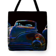 Old Plymouth Old Cars Tote Bag