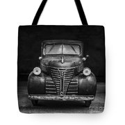 Old Plymouth Truck Square Tote Bag