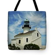 Old Point Loma Lighthouse Tote Bag