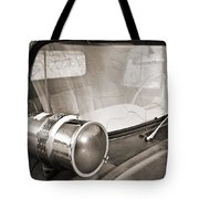 Old Police Car Siren Tote Bag