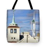 Old Portsmouth's Towers Tote Bag