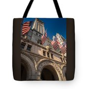 Old Post Office Washington D C Tote Bag