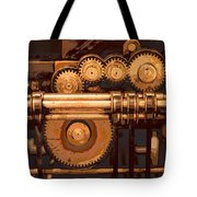 Old Printing Press Tote Bag