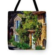 Old Provencal Village Street Tote Bag