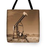 Old Pumpjack  Artesia New Mexico Tote Bag