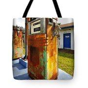 Old Pumps At Pinecrest Tote Bag