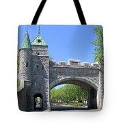 Old Quebec City Wall Quebec City 6358 Tote Bag