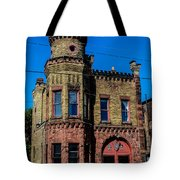 Old Racine Fire Station Tote Bag