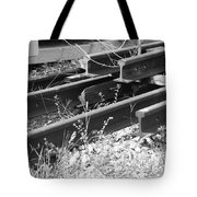 Old Rails Tote Bag