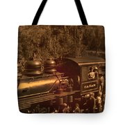 Old Railway Through Cuenca Tote Bag