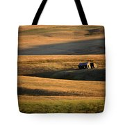Old Ranch Buildings In Alberta Tote Bag