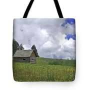 Old Ranchers Summer Cabin Redone Tote Bag