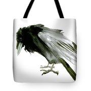 Old Raven Tote Bag