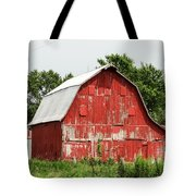Old Red Barn Johnson County Ia Tote Bag