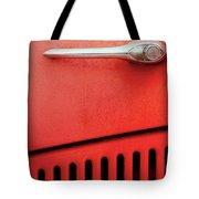 Old Red Car Tote Bag