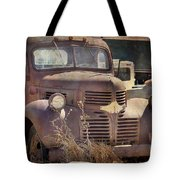 Old Red Dodge Truck Tote Bag