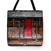 Old Red Door Tote Bag