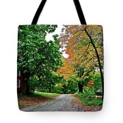 Old Red House Tote Bag
