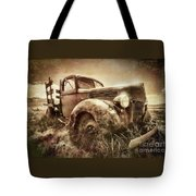 Old Relic Tote Bag by Sharon Seaward