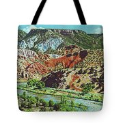 Old Roads To Chama Tote Bag