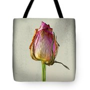 Old Rose On Paper Tote Bag