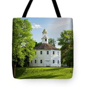 Old Round Church Spring Tote Bag