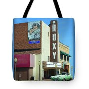 Old Roxy Theater In Muskogee, Oklahoma Tote Bag