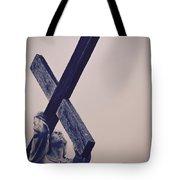 Old Rugged Cross Tote Bag