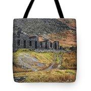 Old Ruin At Cwmorthin Tote Bag