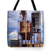 Old Rusted Grain Silo - Utah Tote Bag