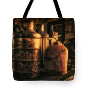 Old Rustic Cans Tote Bag