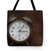 Old Rustick Clock Tote Bag