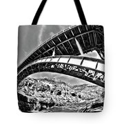 Old Salt River Bridge - Arizona Tote Bag