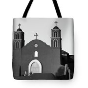 Old San Miguel Mission, Socorro, New Mexico, March 12, 2017 Tote Bag