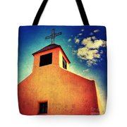 Old Santa Fe Church Tote Bag