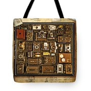 'old School' Cameras Tote Bag