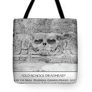 Old School Dead Head Tote Bag