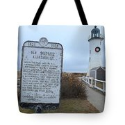 Old Scituate Lighthouse Tote Bag