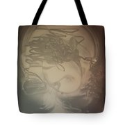 Old Scull Is Looking At You Son Tote Bag